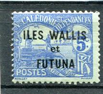 WALLIS ET FUTUNA  N°  1 *  (Taxe)  (Y&T)   (Charnière) - Postage Due