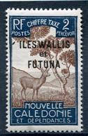 WALLIS ET FUTUNA  N°  11 *  (Taxe)  (Y&T)   (Charnière) - Postage Due