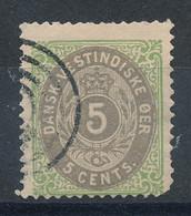 Antilles Danoises N°8 (o) - Danemark (Antilles)