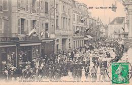 52 - CHAUMONT / CONCOURS NATIONAL DE GYMNASTIQUE Du 12 AOUT 1906 - LE DEFILE - Chaumont