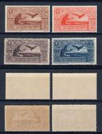 REGNO D'ITALIA 1930 - BIMILLENARIO NASCITA VIRGILIO 4 VALORI DI POSTA AEREA - SASSONE PA21/4 NUOVI ** - Airmail