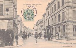 52 - CHAUMONT / RUE DE LA GARE - ENTREE DE LA VILLE - Chaumont