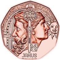"AUSTRIA  5€ 2.021  2021  ""JANUS""  Cobre  SC/UNC   T-DL-12.610 - Austria"