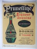 SDV 2019- PRUNELLINE - ETABLISSEMENT BOURIN TOURS - (2) - Alcohol