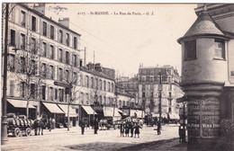 94 - Val De Marne -  SAINT MANDE - La Rue De Paris - Saint Mande