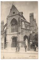 CPA 75 - PARIS - 331. Portail Saint-Médard - C.L.C. - Dos Simple - Iglesias
