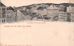 Souvenir De La Chaux De Fonds - La Chaux De Fonds En 1880 - NE Neuchatel