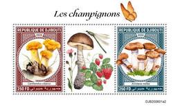 DJIBOUTI 2020 - Mushrooms, S/S II. Official Issue [DJB200601a2] - Champignons