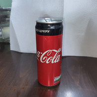 Ukrania-zero Coca Cola-(330mil)-used - Cannettes