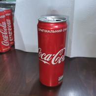 Ukrania-coca Cola-(330mil)-used - Cannettes