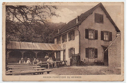 BAS RHIN - WESTHOFFEN - GEISWEG / 1933 CP MAISON FORESTIERE ANIMEE  VOYAGEE  (ref LE4328) - Other Municipalities