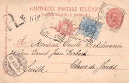 24.10.1896 - PER LE NOZZE DI S.A.R. IL PRINCIPE DI NAPOLI CON LA PRINCIPESSA ELENA DI MONTENEGRO - Napoli (Naples)