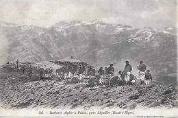 05)     PENIN  - Batterie Alpine à Penin Prés Aiguilles - Haute Alpes  (  Chasseurs Alpins  ) - Other Municipalities