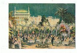 06 - NICE - Alhambra Palace Hôtel, 2 Cartes - 1538/39 - Cafés, Hoteles, Restaurantes