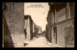 83 - POURRIERES - LA GRANDE RUE ET LA POSTE - Other Municipalities