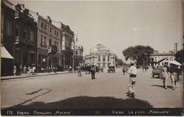BULGARIE VARNA PLACE MOUSSALLA 172 - Bulgaria