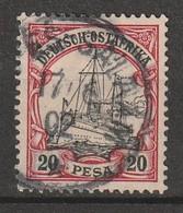 Deutsche Kolonien - Afrique Orientale - N°16 Obl (1901) - Colonie: Afrique Orientale