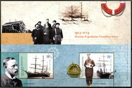 Argentine - 2003 - Yt BF 81 - Centenaire Du Sauvetage De L'expédition Suédoise - ** - Blocs-feuillets