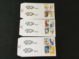 Belgique : N°2858\77 Personnalités Célèbres (Tintin, Merckx, Kennedy,...) Sur FDC - Cartas