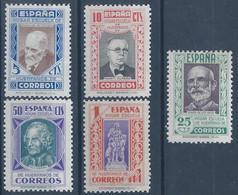 ESBE12-L4226TEUROPESPBENEF .BENEFICENCIA..PEDAGOGOS. 1938   (Ed 22/6** ) .SIN CHARNELA.MAGNIFICA - Beneficiencia (Sellos De)