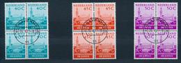 Nederland/Netherlands/Pays Bas/Niederlande 1977 4 Bl Mi: DM 41-43 Yt: TS 33-35 Nvph: D 41-43 (Gebr/used/obl/o)(4777) - Dienstpost
