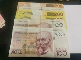 Belgique, 2800 Francs. Divers Billets - Andere