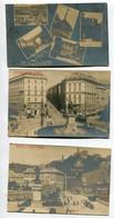 ITALIE GENOVA Lot 3 CARTES PHOTOS Quartiers Ville 1900  Piazza Corvetto  Piazza Principe  Et Multivues   D05 2021 - Genova (Genoa)