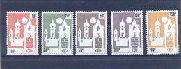 Nrs. TR461/TR465  Postgaaf **  MNH Prachtig - 1952-....