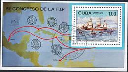 KUBA 1982 Blockausgabe Internationale Briefmarkenausstellung PHILEXFRANCE VFU - Blocchi & Foglietti