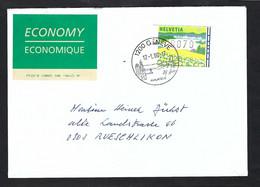 SUISSE 2000: LSC De Genève Pour Rueschlikon - Automatic Stamps