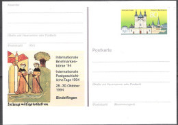 BRD Ganzsache PSo 36 Münchner Briefmarkenbörse Sindelfingen 94 Ungelaufen ( D 205 ) Günstige Versandkosten ( - Postales - Nuevos
