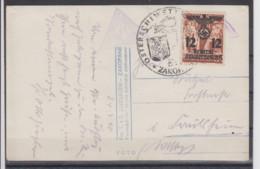 "II.WK Generalgouvernement Fotokarte "" Hohe Tatra "" Mit 1x 33II SSt Zakopane 1940 Ins Reich - Besetzungen 1938-45"