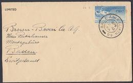 IRLANDA - IRLANDE - EIRE - 1948 - Yvert Posta Aerea 2, Obliterato, Su Porzione Di Busta. - Airmail