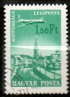 HONGRIE P Aérienne 1,50 Ft 1966 N° 284 - Gebraucht