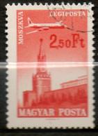 HONGRIE P Aérienne 2,50 Ft 1966 N° 286 - Gebraucht