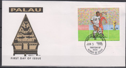 Soccer World Cup 1998 - PALAU - FDC Cover - 1998 – Francia
