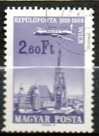 HONGRIE P Aérienne 2,60 Ft 1968 N° 300 - Gebraucht