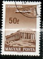 HONGRIE P Aérienne 50 F 1966 N° 280 - Gebraucht