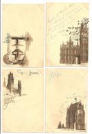 BELGIQUE - Brugge - Lot De 4 Cartes Vers 1900 - Brugge