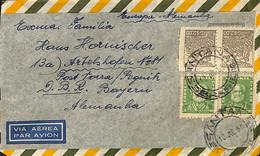 [909178]B/TB//-Brésil 1955 - PAR AVION, Personnalités - Cartas