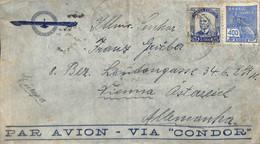 [909195]B/TB//-Brésil 1954 - PAR AVION - Cartas