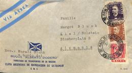 [909196]B/TB//-Brésil 1954 - PAR AVION - Cartas
