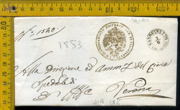Piego Con Testo Sanguinetto Per Verona - 1. ...-1850 Vorphilatelie