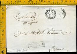 Piego Con Testo Gardone Brescia Per Brescia - 1. ...-1850 Vorphilatelie