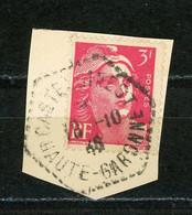 FRANCE - 3F TYPE M. DE GANDON - N° Yvert 716 Obli. CàD HEXAGONAL PERLÉ De CASTERLGINEST - 1921-1960: Période Moderne