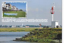 CPM SAINT VALERY SUR SOMME  La Baie Et Le Phare - Saint Valery Sur Somme