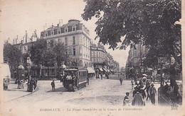 33 -- Bordeaux -- La Place Gambetta Et Le Cours De L'Intendance - Tram --- 3137 - Bordeaux
