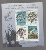 FRANCE / 1995 / Y&T N° 2929/2932 En Bloc Ou BF N° 18 (Feuillet Audubon) - Oblitérations 1995 07 19. SUPERBE ! - Oblitérés