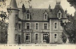 Environs De LANNILIS  Chateau De Lescamps à L' Aberwrach RV - Autres Communes