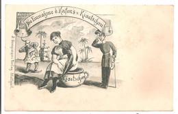 Satirique - Die Einnakme Hafen's Kiaotsckau - Vers 1900 - Sátiras